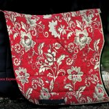 "Barockschabracke DEMI LUNE ""red march"""